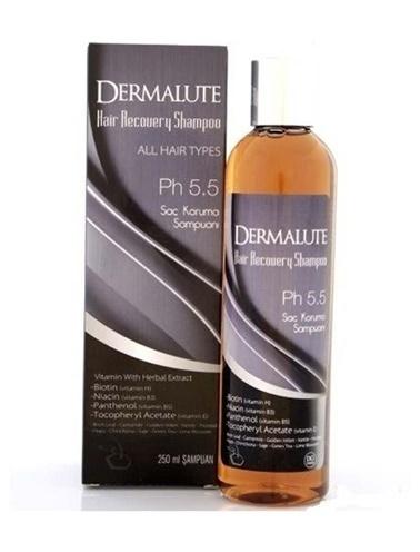 Dermalute DERMALUTE Şampuan 250 ml Renksiz